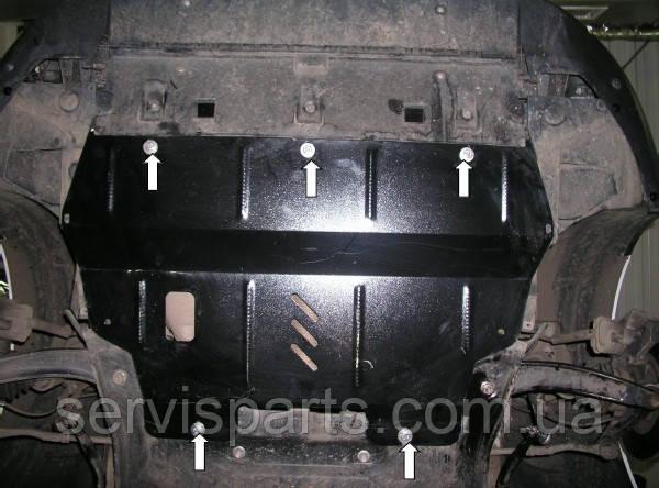 Защита двигателя Citroen Berlingo 2008- (Ситроен Берлинго)