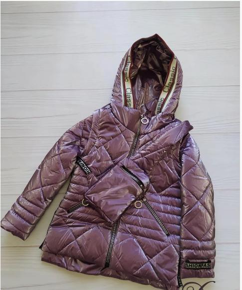 Куртка демисезонная для девочки, размеры 34 - 42