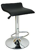 Барний стілець хокер Bonro B-688 чорний, фото 1