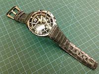 Ремешок из Крокодила для часов chronographe suisse mangusta supermeccanica