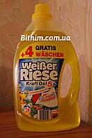 Гелеобразный стиральный порошок Weißer Riese  3,504 л весенняя свежесть (Hencel) Германия.