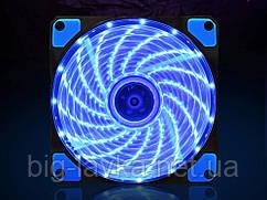 Светодиодный вентилятор на ПК  Синий