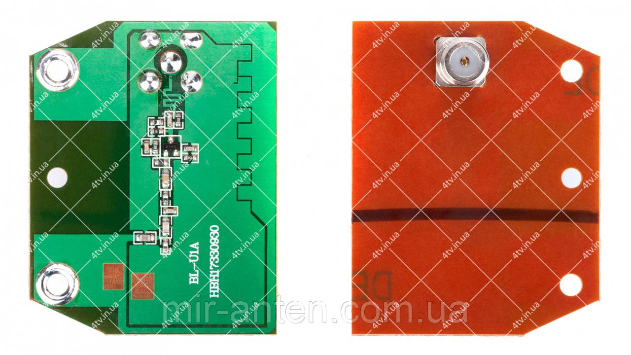 Антенний підсилювач Eurosky ES-003, 007, Фаворит, Videodom, Світ-19 плата 5V