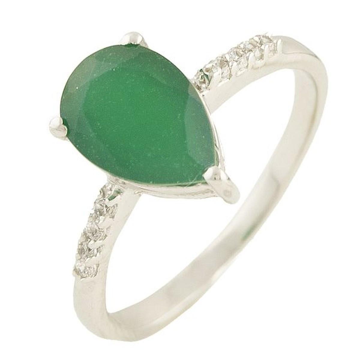 Серебряное кольцо pSilverAlex с натуральным агатом (0573793) 16.5 размер