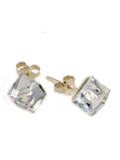 Серебряные серьги pSilverAlex с фианитами (1043899)