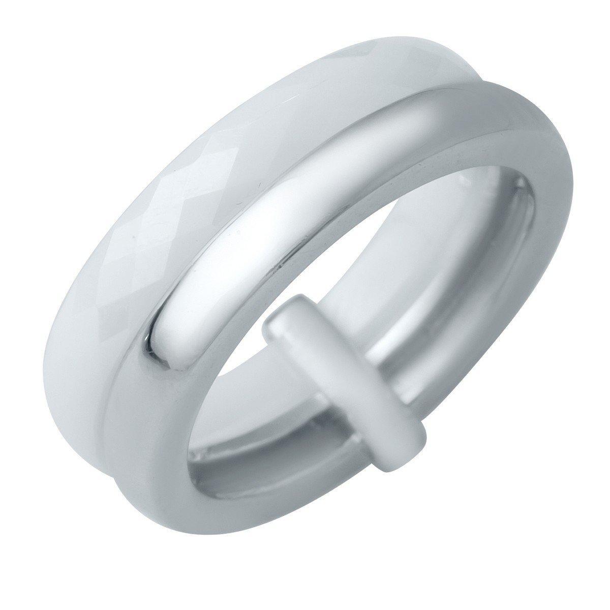 Серебряное кольцо pSilverAlex с керамикой (1150788) 19 размер