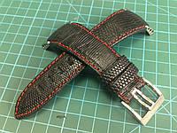 Ремешок из Игуаны  для часов Seiko Sportura