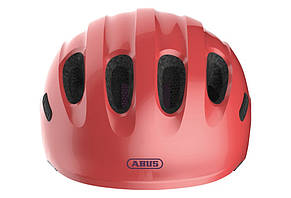 Велосипедний дитячий шолом ABUS SMILEY 2.1 S 45-50 Sparkling Peach 869457, фото 2