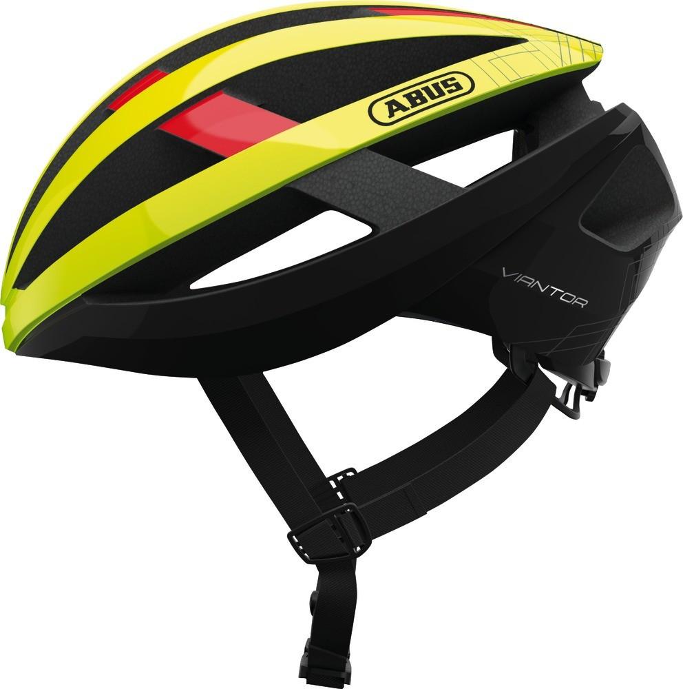 Шолом велосипедний ABUS viantor M 54-58 Neon Yellow 781636