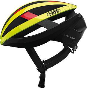 Шолом велосипедний ABUS viantor M 54-58 Neon Yellow 781636, фото 2