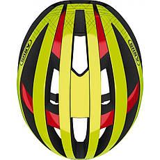 Шолом велосипедний ABUS viantor M 54-58 Neon Yellow 781636, фото 3