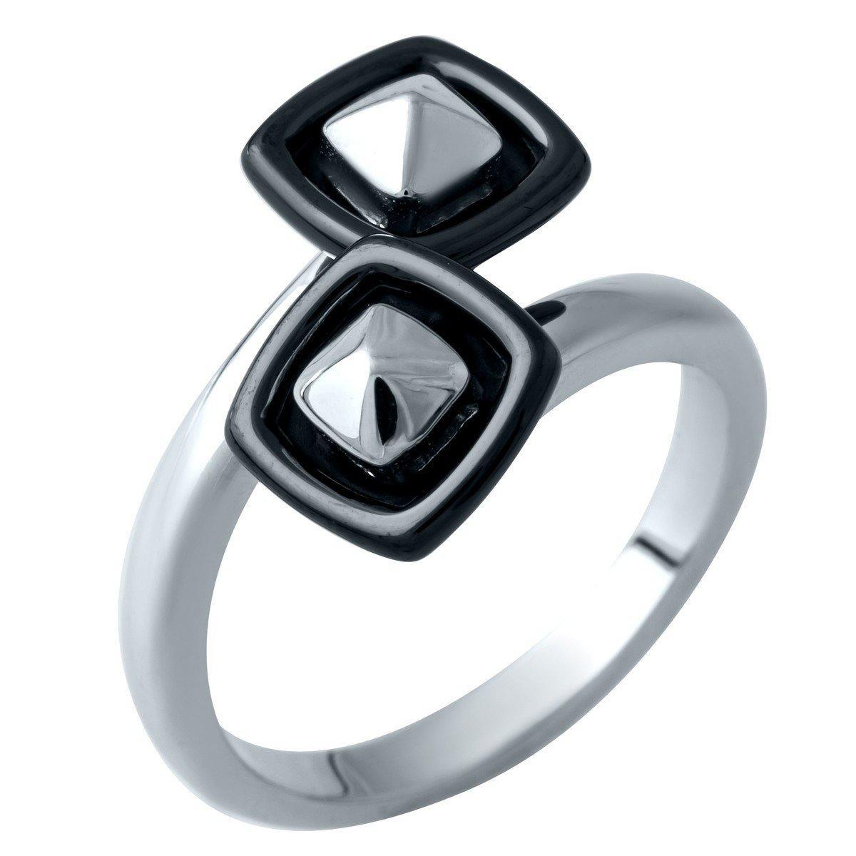 Серебряное кольцо pSilverAlex с керамикой (1908266) 16.5 размер