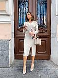 Сукня Жіноча В'язана Міді, фото 3