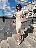 Сукня Жіноча В'язана Міді, фото 2
