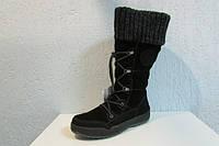 Женские сапоги Magilаnd 2162-130 черные код 822а
