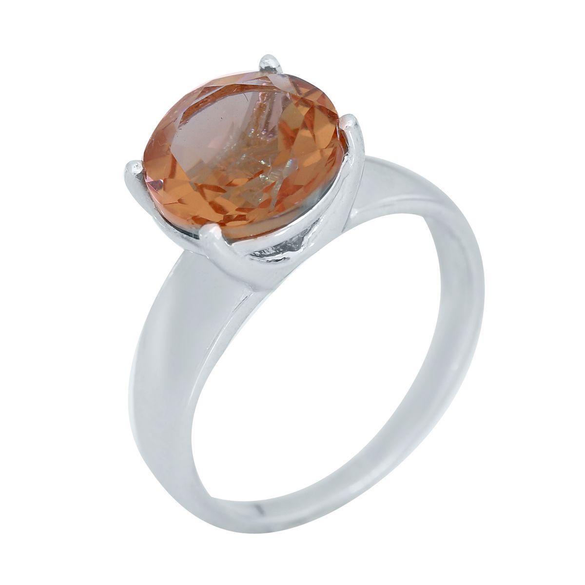 Серебряное кольцо pSilverAlex с Султанит султанитом (2026037) 19 размер