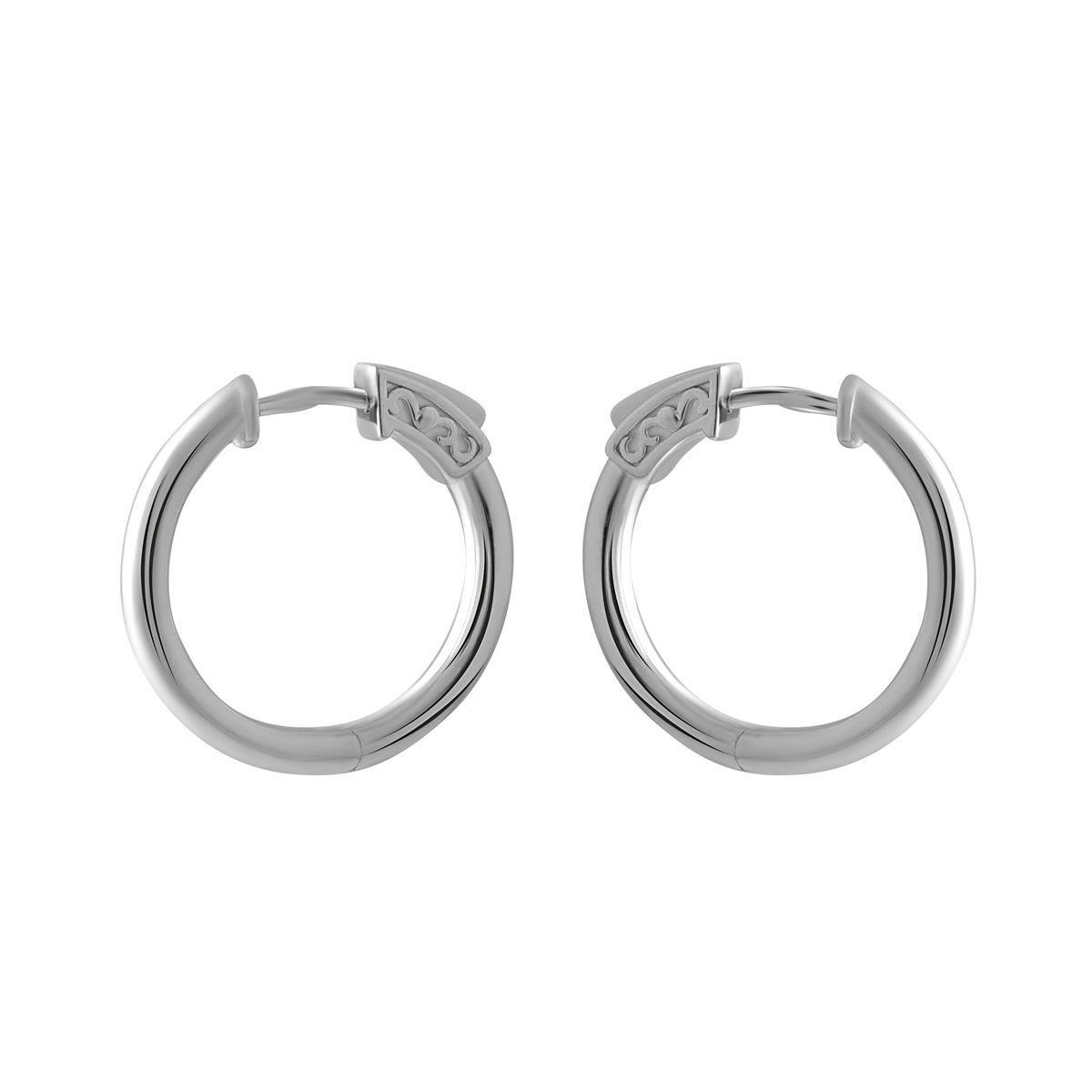 Серебряные серьги pSilverAlex без камней (2005254)
