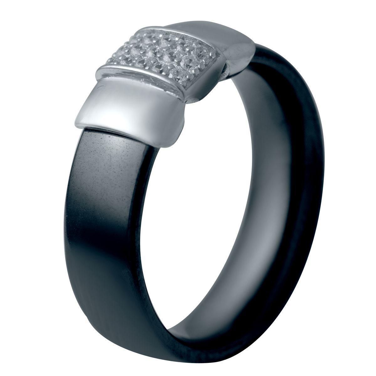 Серебряное кольцо pSilverAlex с керамикой (2032564) 17.5 размер 4.52, 17