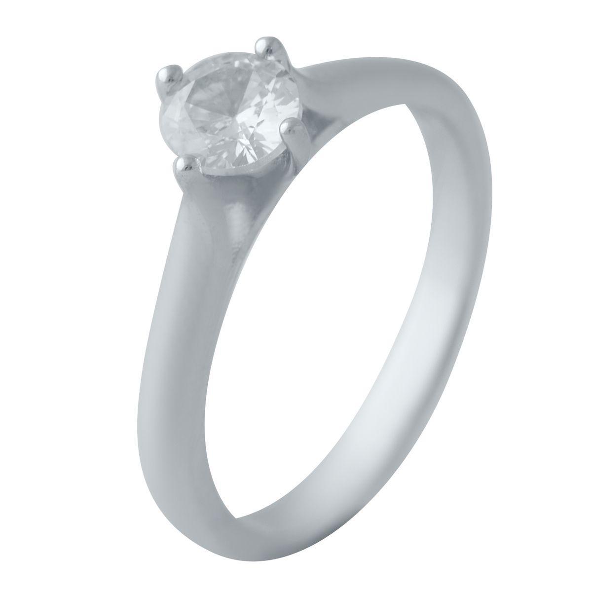Серебряное кольцо pSilverAlex с фианитами (2035473) 17.5 размер 2.17, 16.5