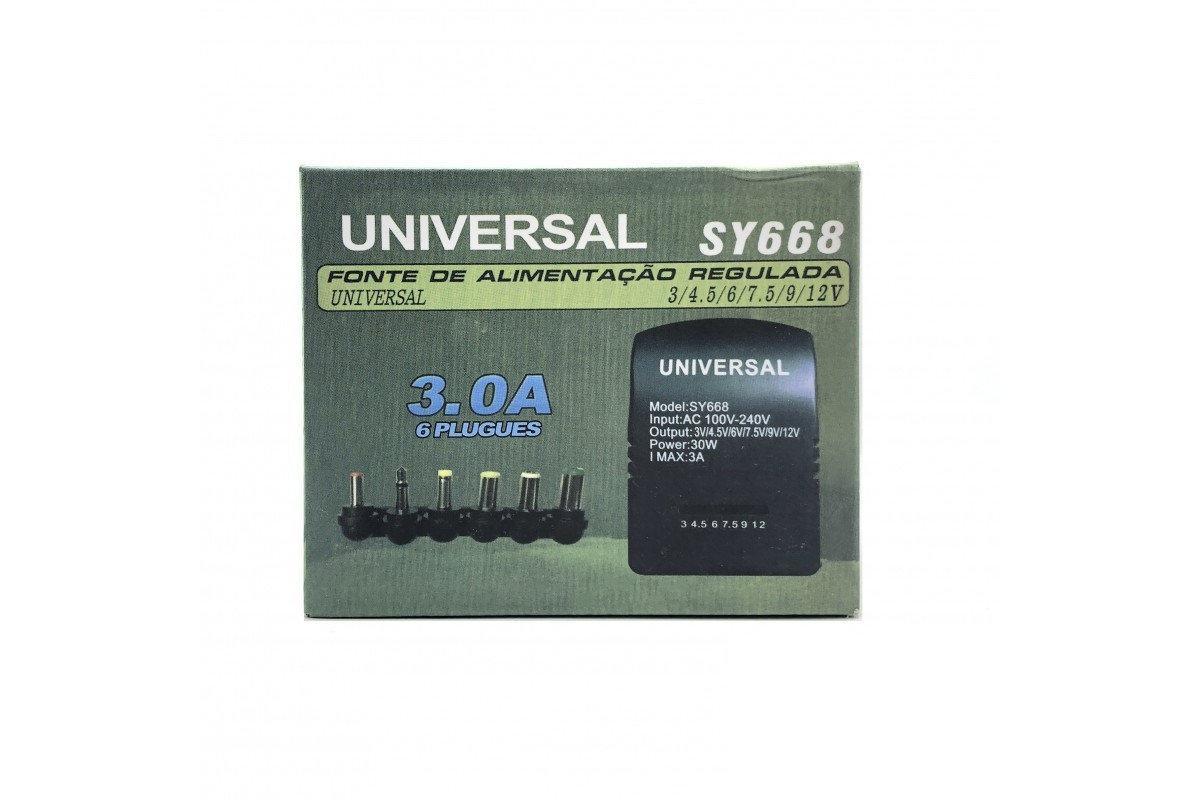 Автомобильное универсальное зарядное устройство 12V для ноутбука SY-668 30W, Автомобильное универсальное зарядное устройство 12V для ноутбука SY-668
