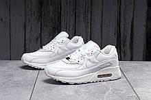 Кроссовки женские 17862, Nike Air Max M-90, белые, [ 37 39 41 ] р. 37-23,0см.