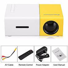 Проектор Led Projector YG300 мультимедийный, видеопроектор, проектор новый, led проектор в украине