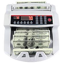 Счетная машинка для денег 2089, ультрафиолет, детектор ультрафиолетовый, Детектор валюты