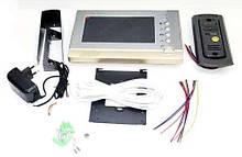 Домофон Intercom V80P-M1 Цветной  Видеозвонок с картой памяти, Intercom, Видеозвонок, с камерой и дисплеем
