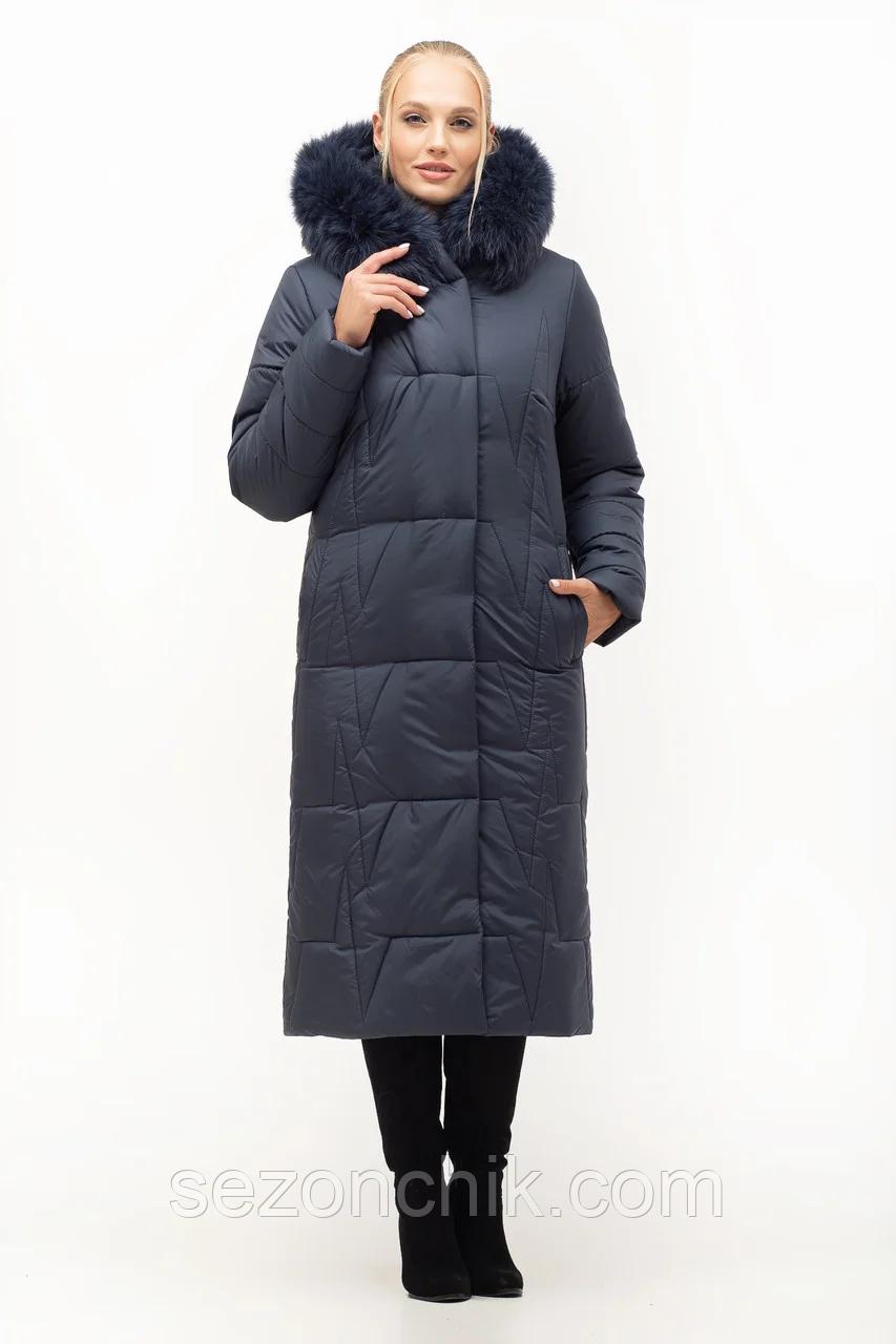 Женские зимние куртки и пальто с натуральным мехом