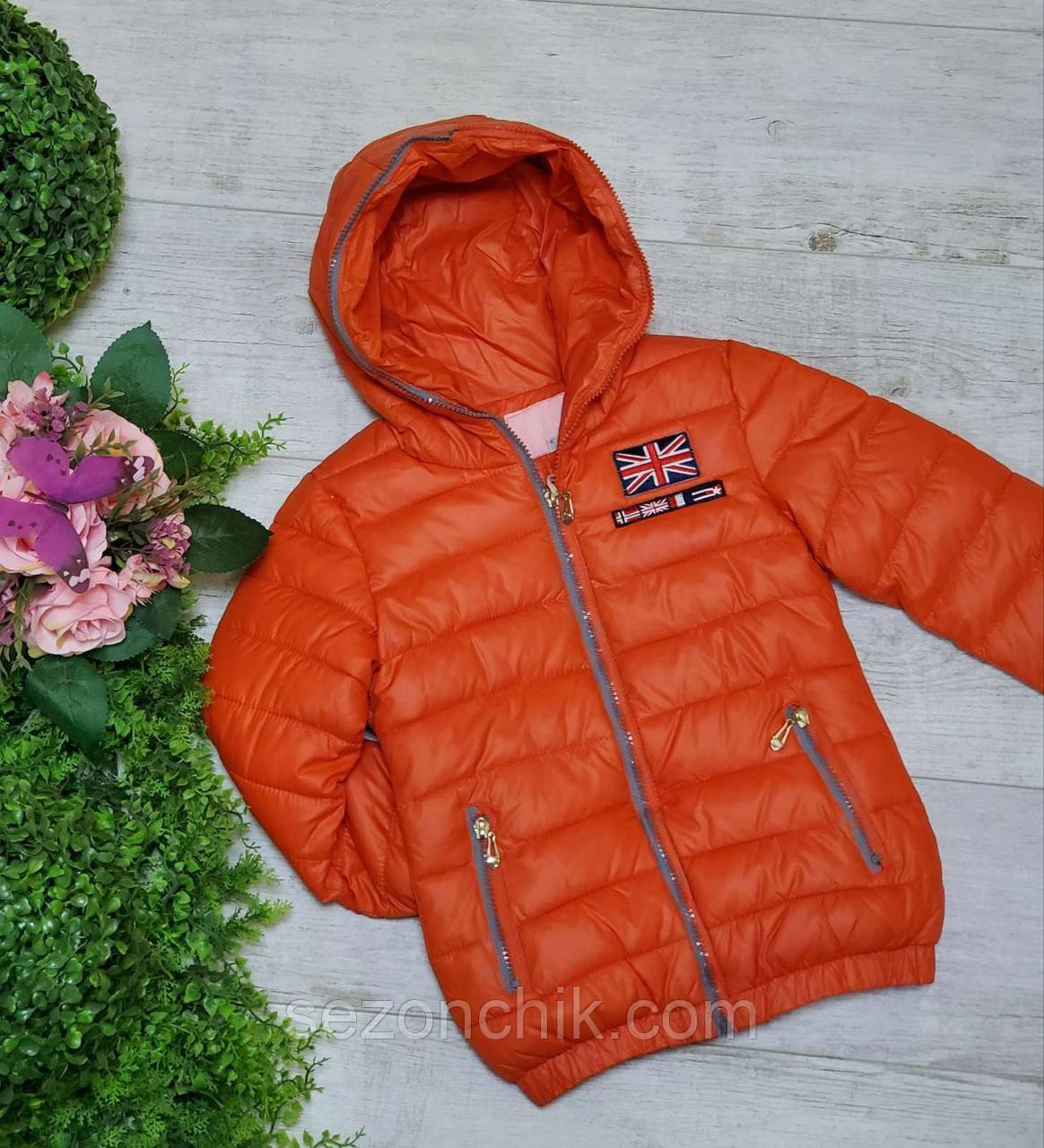 Куртка детская демисезонная яркая