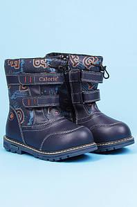 Ботинки детские зимние темно-синие Calorie 123072P