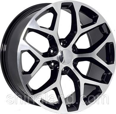 Диски Zorat Wheels ZF-6701 Black 9x20 6x139,7 ET31 dia78,1 (BF)