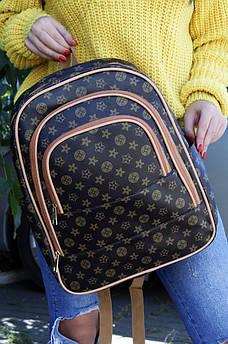 Рюкзак LV темно-коричневый AAA 122957S
