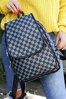 Рюкзак голубой AAA 122950S