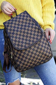 Рюкзак коричневый AAA 122951S