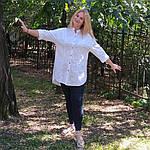Блуза из турецкого хлопка Бохо. 50-58, фото 2