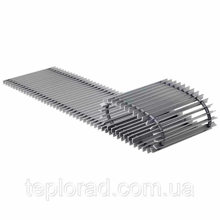 Решетка алюминиевая для внутрипольного конвектора Konveka GR 290-22 ALS