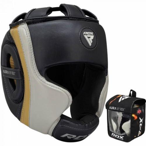 Боксерский шлем RDX Aura Golden L
