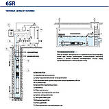 Скважинный насос Pedrollo 6SR 18/4 - HYD (без двигателя), фото 3