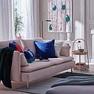 ИКЕА (IKEA) ГУРЛИ, 004.262.01, Чехол на подушку, темно-синий, 50x50 см - ТОП ПРОДАЖ, фото 2