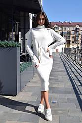 Тёплое платье 8062#