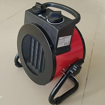 Електрична теплова гармата Crown LXF2P 2 кВт ( Керамічний нагрівальний елемент )