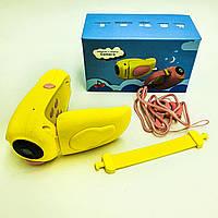 Видеокамера детская цифровая мини камера для фото и видеосьемки UKC A100 желтый, фото 1
