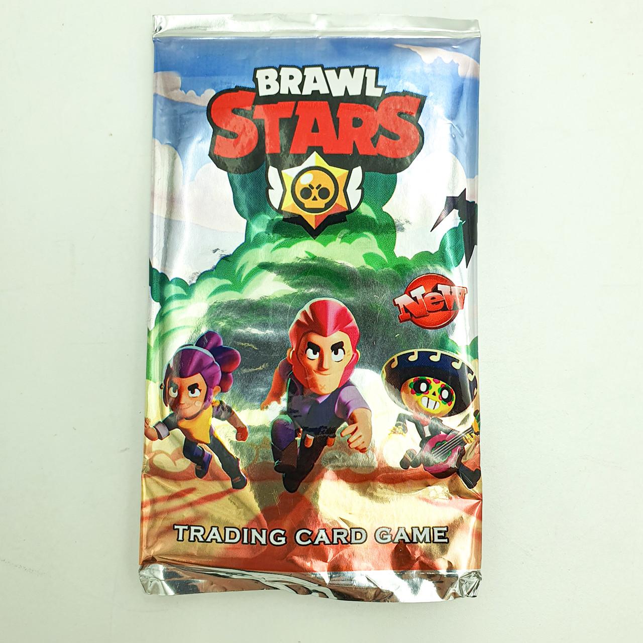 Игровые карты Бравл Старс Brawl stars в комплекте 10 шт
