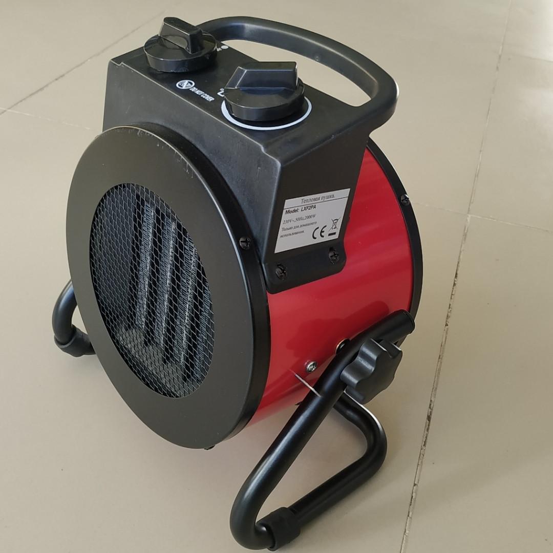 Електрична теплова гармата Crown LXF2P 3 кВт ( Керамічний нагрівальний елемент )