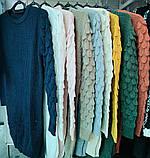 Женские зимние модные яркие туники (Турция) оптом и в розницу, фото 2