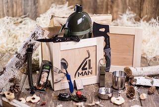 Ящики 4MAN - подарки для мужчин