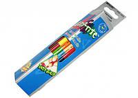 Карандаши цветные 12шт. Marco Grip-Rite акварельные двухсторонние с кисточкой 24 цвета (9121-12CB)