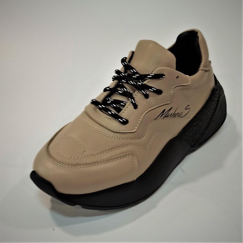 Жіночі шкіряні кросівки, Masheros olive розміри: 39-40