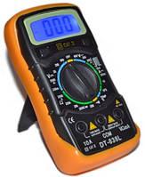 Мультиметр тестер  DT-838L  с измерением температуры, фото 1